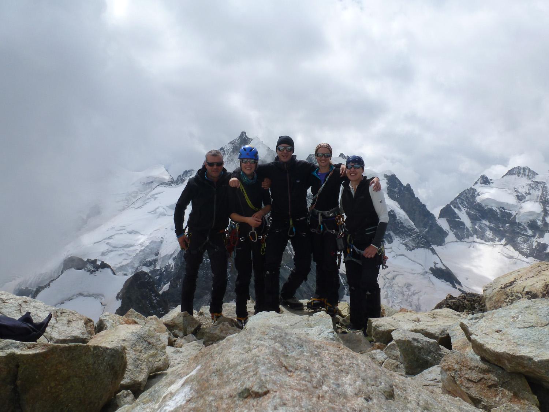 Die Gruppe auf dem Gipfel
